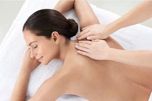 back massage female